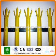 Порошковое покрытие Высокое качество W Тип Палисадное ограждение