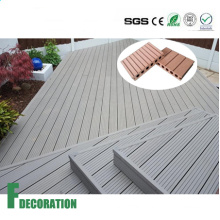 Waterproof WPC Outdoor Wood Plastic Composite Decking Flooring