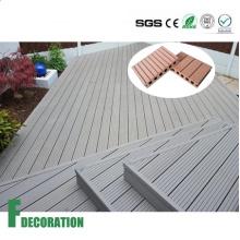Revestimento composto plástico de madeira exterior impermeável do Decking de WPC