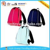 600D polyseter material sports children backpack with water bottle holder