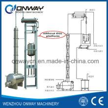 Edelstahl-Lösungsmittel Acetonitril Ethanol Alkohol Destilliergeräte Solvent Recovery Machine