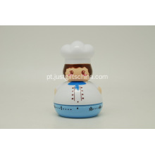 Promocional ABS Kitchen Timer - Chef feminino