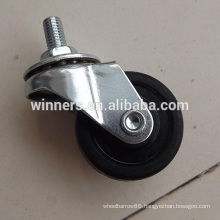 "1.5"" small rubber Medical/furniture caster"