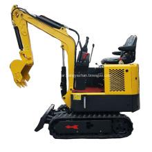 Cheap mini crawler excavator 1 ton for sale