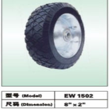 Semi roue pneumatique 8x1.5 8x2.5 8x2.2 10x2.5 10x1.75