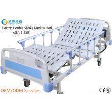 Китай Поставки больничной мебели электрические 2-Crank встряхнуть медицинская кровать