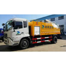 Camión de limpieza de alcantarillado de alta presión del fabricante barato y fino