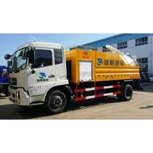Caminhão de limpeza de esgoto de alta pressão fabricante barato e fino