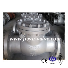 DIN Pn40 Dn200 Carbon Steel Swing Check Valve