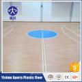 Используемое крытый настил PVC баскетбольной площадки отскок циновка настила