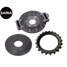 Colada de cera perdida de acero, carbono, aleación de acero inoxidable para piezas de maquinaria