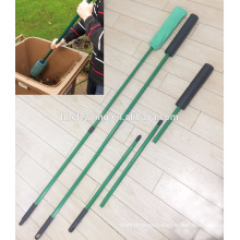 Cepillo Wheelie Bin de 1,6 m de longitud, cepillo de limpieza de mango largo para cubo de basura