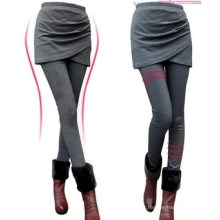 Fashion Womens High Waist Skinny Layered Leggings (SR8226)