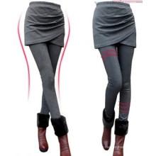 Caneleiras em camadas skinny cintura alta moda feminina (sr8226)