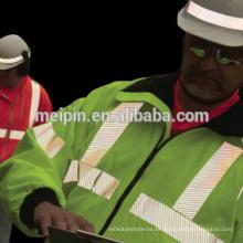Vinilo reflectante de plata, cinta reflectante de transferencia de calor para ropa de seguridad Vinilo reflectante de plata, cinta reflectante de transferencia de calor para ropa de seguridad