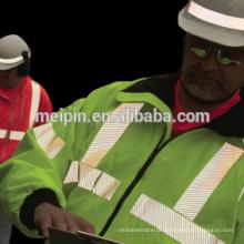 Silver reflective vinyl, heat transfer reflective tape for safety clothing Silver reflective vinyl, heat transfer reflective tape for safety clothing