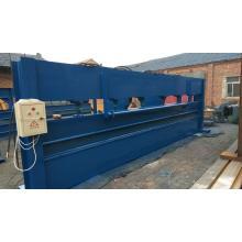 machine à cintrer lourde de tôle d'acier hydraulique
