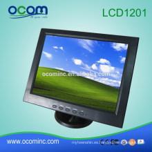 Monitor LCD de 12 pulgadas con pantalla táctil barata (LCD1201)