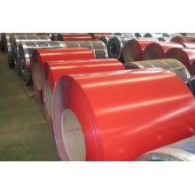 Bobinas de acero galvanizado revestido del color prepintado