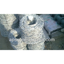 fil barbelé galvanisé / fabricant Anping / meilleure qualité