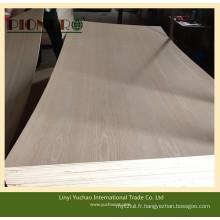 Contreplaqué de teck avec le noyau de bois dur pour le marché de l'Inde