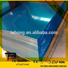 1060 3003 aleación 2 mm 3 mm 4mm Espesor Aluminio Plain Sheet
