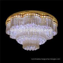 Luxury Suspended Hotel led Crystal Ceiling Light