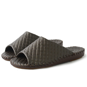 High Quality Japan Style Man Slippers Pansy Room Wear