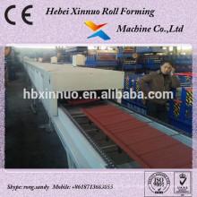 Steinüberzogene ineinandergreifende Dachplatte-Fliesen, die Maschine herstellen
