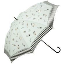 Manual abra borda senhora reta guarda-chuva (BD-37)