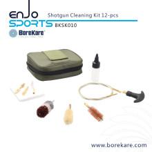 Borekare 12-PCS Bore Brush Hunting Shotgun Gun Cleaning Kit/Hand Tool