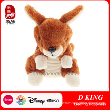 Brown Soft Plush Kangaroo Toy Stuffed Animals