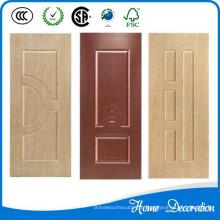 Новые дизайны моделей hdf меламиновой формованной двери