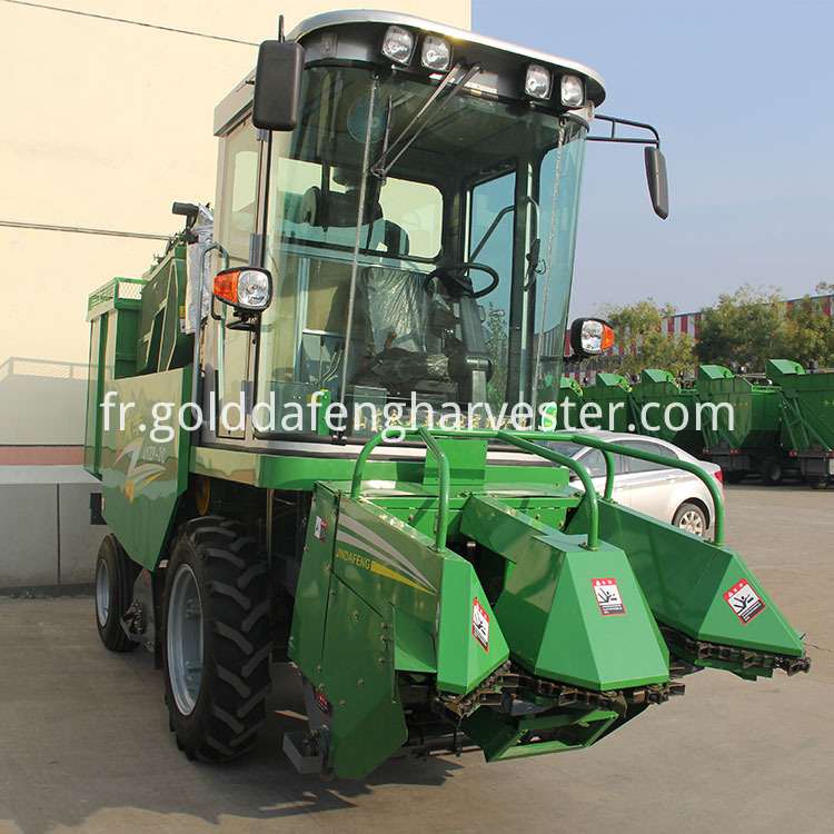 2 Rows Corn Maize Harvester