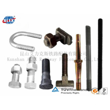 Railway Railroad Track Bolt Series for Railway Fastening