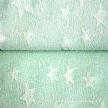 New Arrivel Embossed Jacquard Polar Fleece Baby Fabric