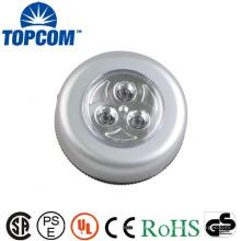 ABS 3 LED 4 LED 6 LED Luz de tacto de forma redonda