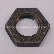 "Malleable Iron Pipe Fittings 1/2"" Black Locknut"