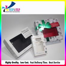 Caja clara cosmética de la impresión de Hotstamp de la ventana del animal doméstico