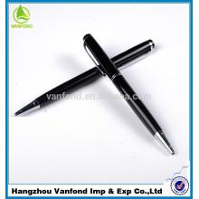 alta calidad twist metal tipo bolígrafo con logo grabado