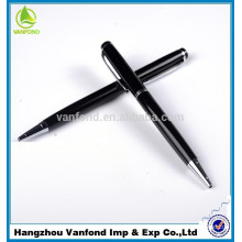high quality twist type metal ballpoint pen with logo print
