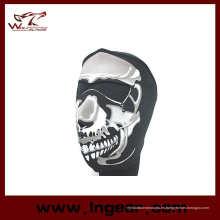 Venta caliente motocicleta negra mascara Airsoft Paintball máscara