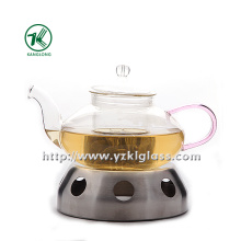 Clear Single Wall Glass Teapot by SGS, , , (550ML)