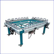 1200 x 1500mm mecánica doble máquina de estiramiento de la tirada