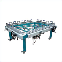 1200X 1500mm Mechanical Double Chuck Stretching Machine