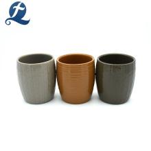 Best-seller casa uso votiva jarro de cerâmica de vela