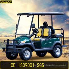 Voiture de golf électrique avec siège arrière homologué Ce