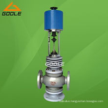 High Temperature Electric Three Way (3-way) Control Valve (GAZDLX. GAZDLQ)