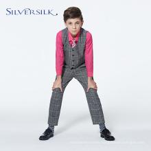Custom Branded TR Checked School Uniform for Boys