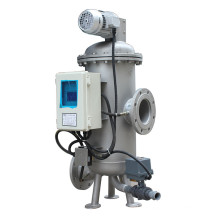 Contrôleur de minuterie Filtre à brosse à aspiration automatique à l'acier inoxydable